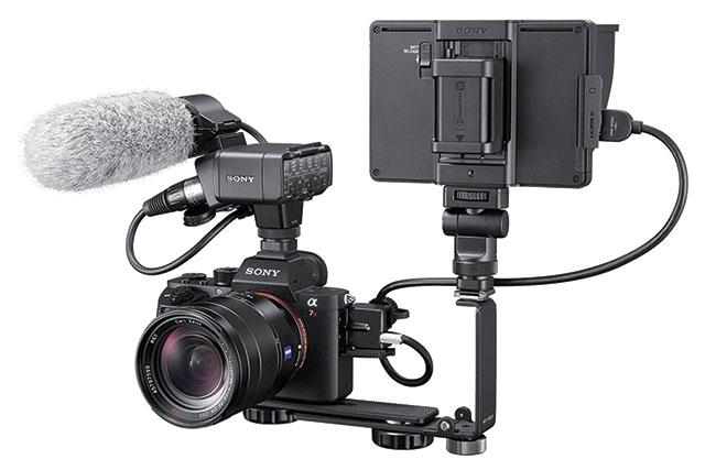 Flash clipart video shoot Camera XLR a7R to Sony