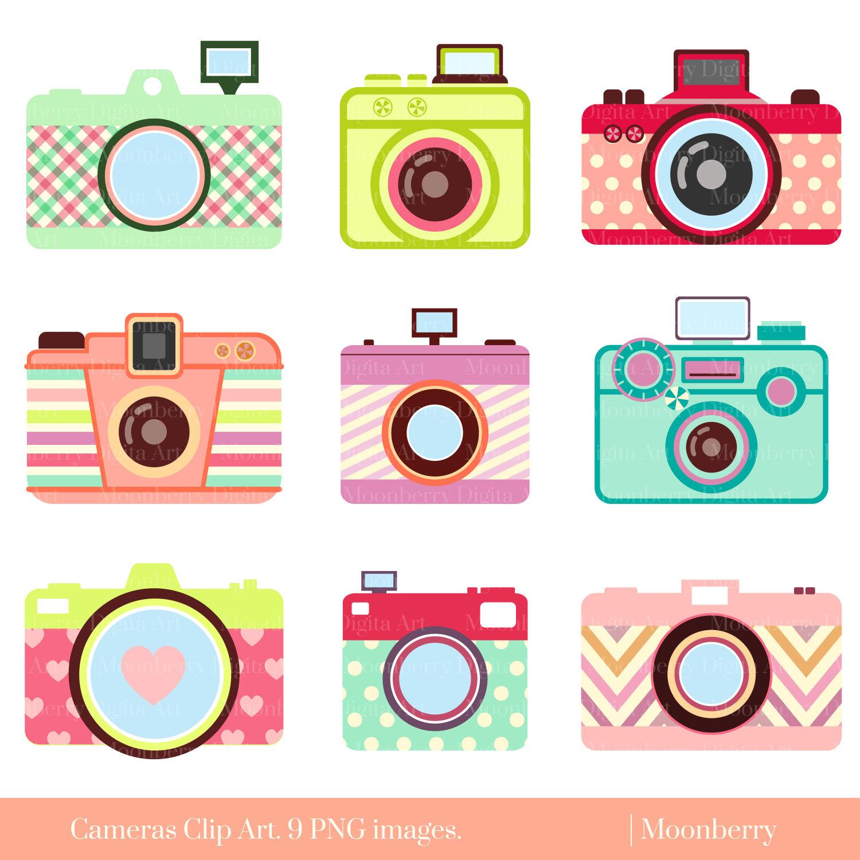 Camera clipart cute camera Photography Cute ClipArt CLIP
