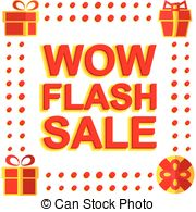 Flash clipart wow Poster of Art FLASH Clip