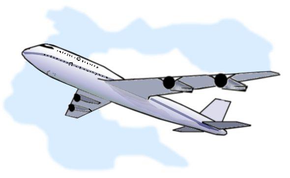 Airplane clipart flight #1