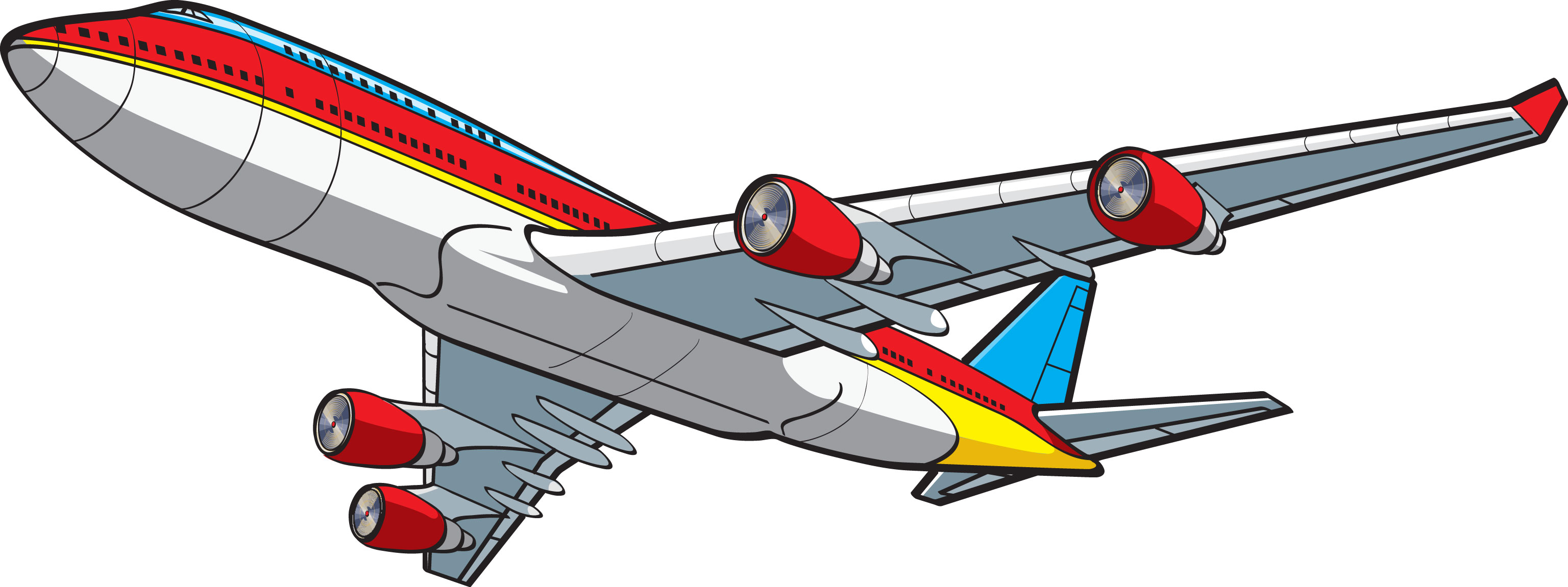 Flight clipart Flight collection travel clipart Airplane