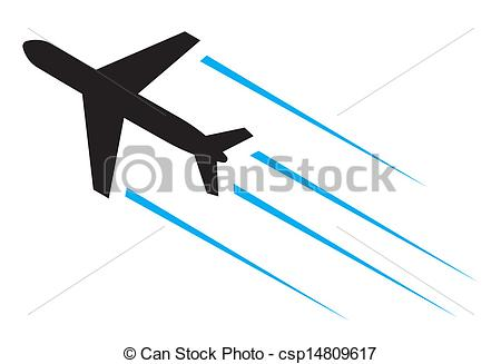 Flight clipart Clip csp14809617 Flying  airplane