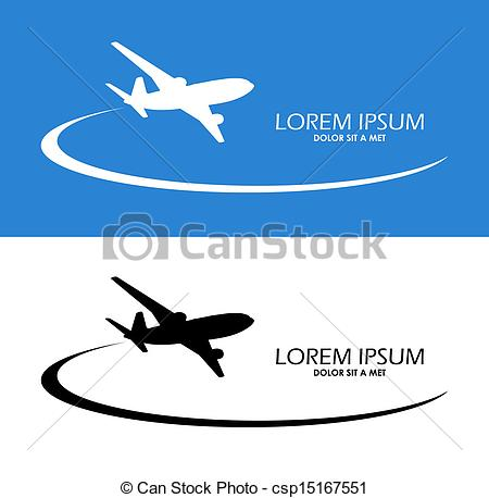 Drawn airplane airplane flying Vector Air Clipart design flight