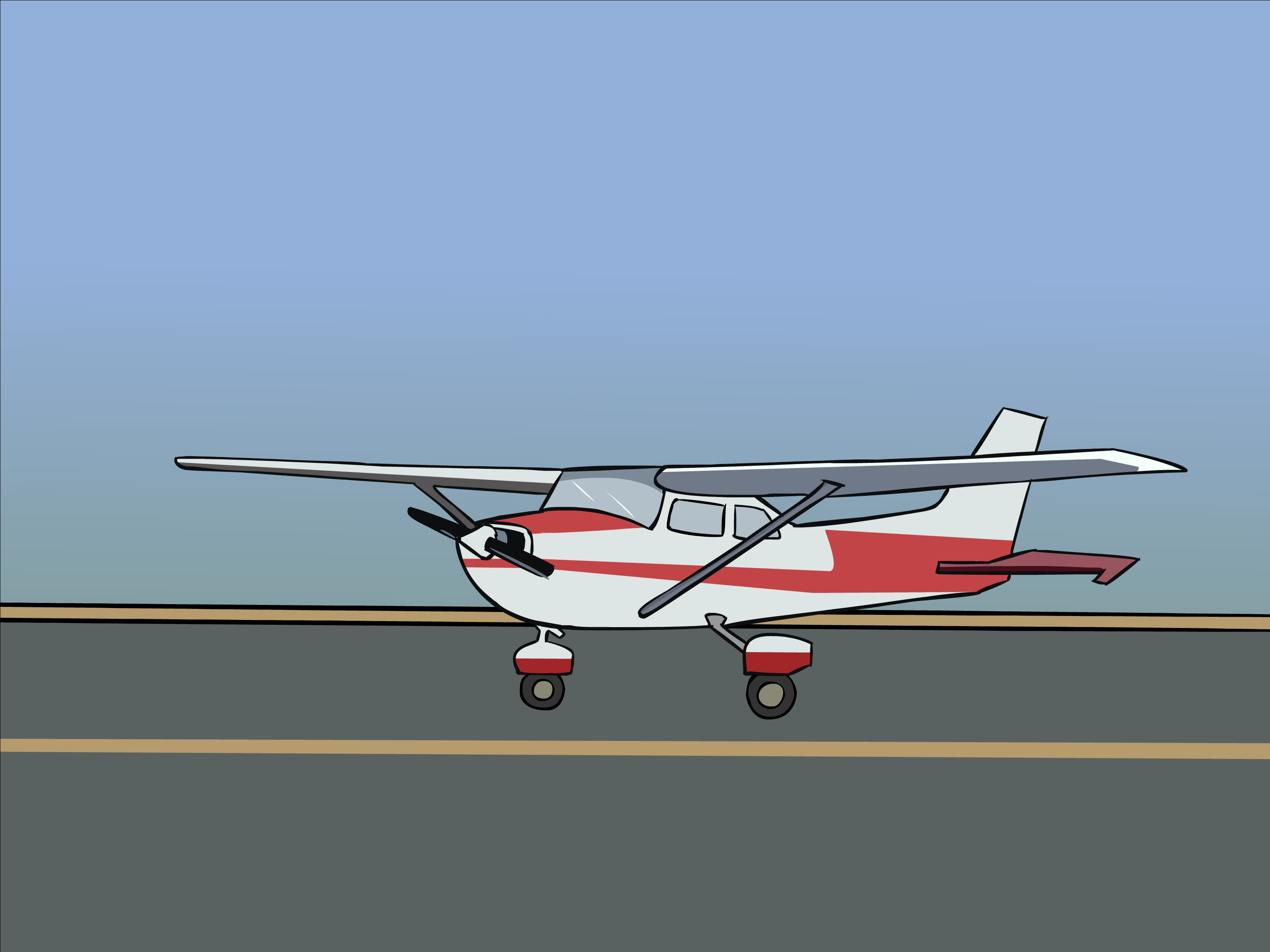 Aircraft clipart airplane takeoff How and Pictures)  Soft
