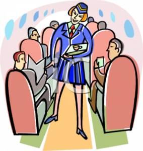 Airplane clipart person #2