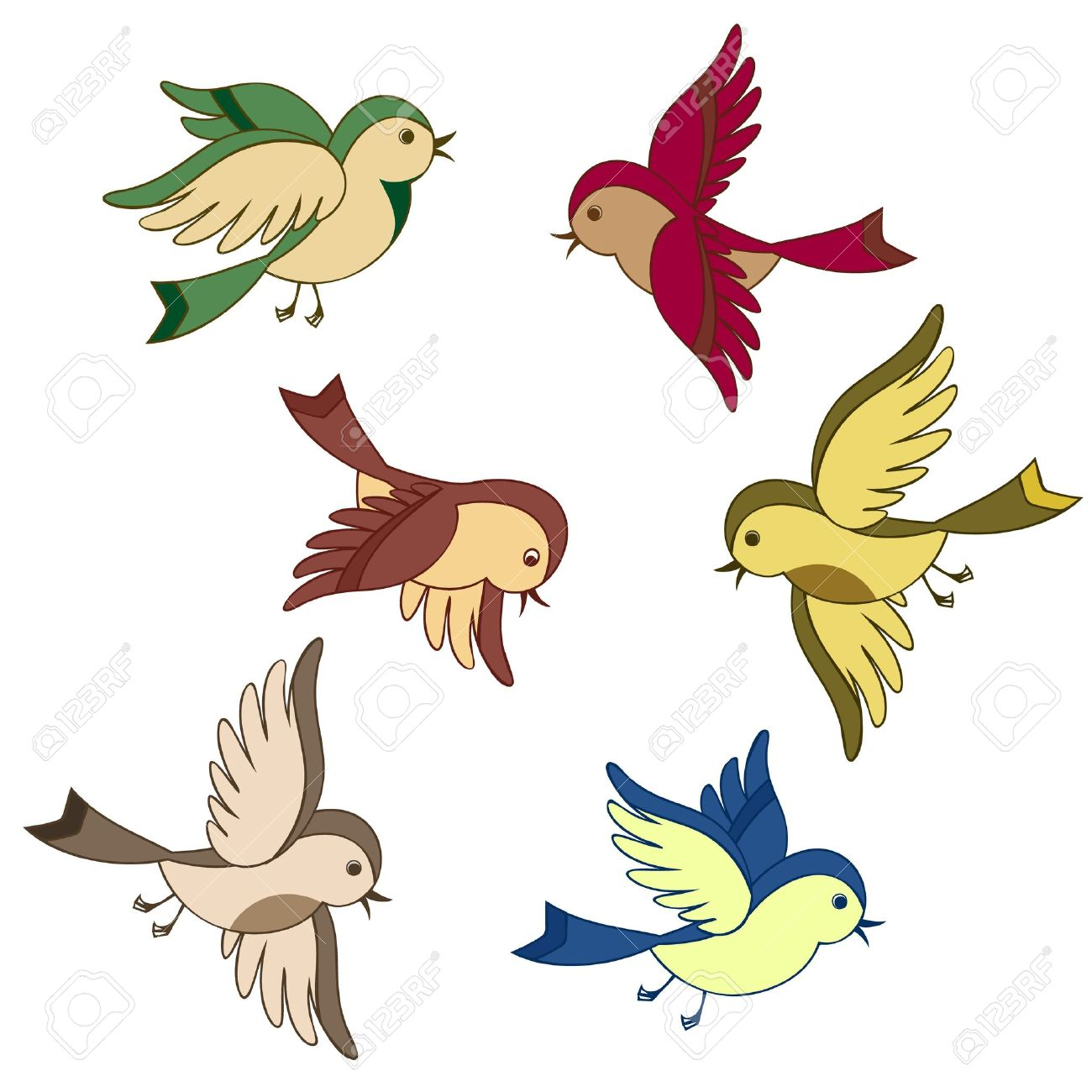 Brds clipart bird fly Flying clipart Download drawings Flying