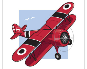 Aviation clipart old plane Old Old Art Clip