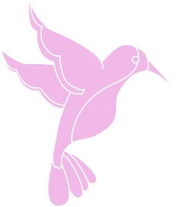Pink clipart hummingbird Clipart Clipart Bird Pink Bird
