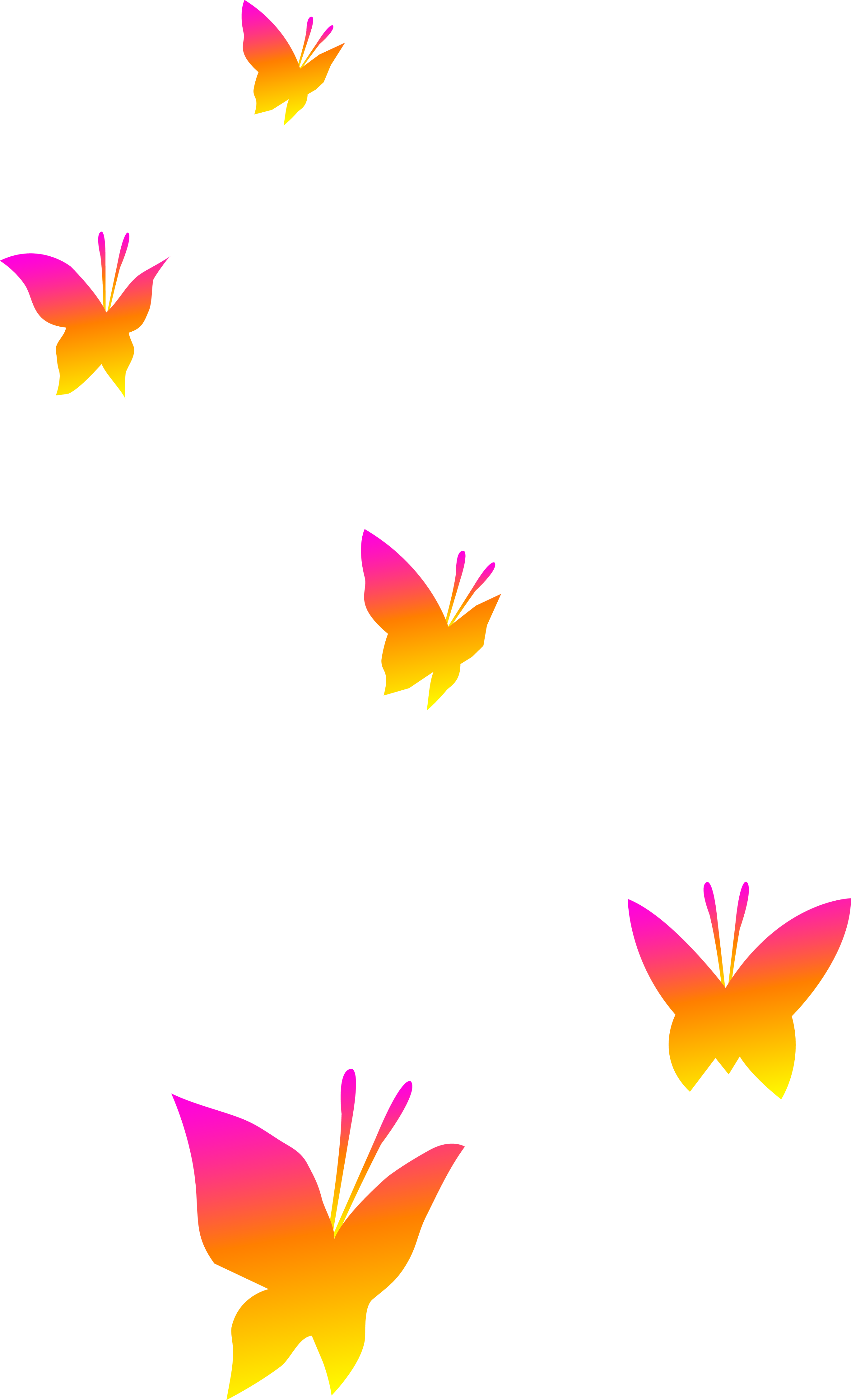 Color clipart transparent background In in Girly clipart butterfly