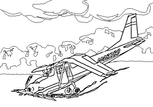 Drawn aircraft clipart white #8