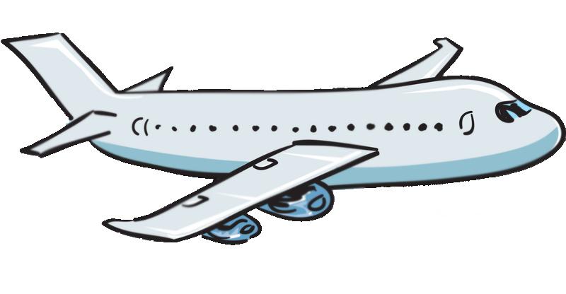 Drawn aircraft transparent background #11
