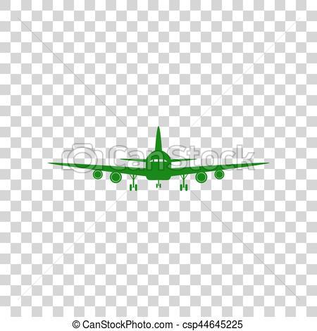 Drawn aircraft transparent background #10
