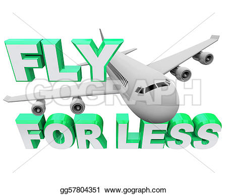 Vacation clipart flight Air less Stock fly