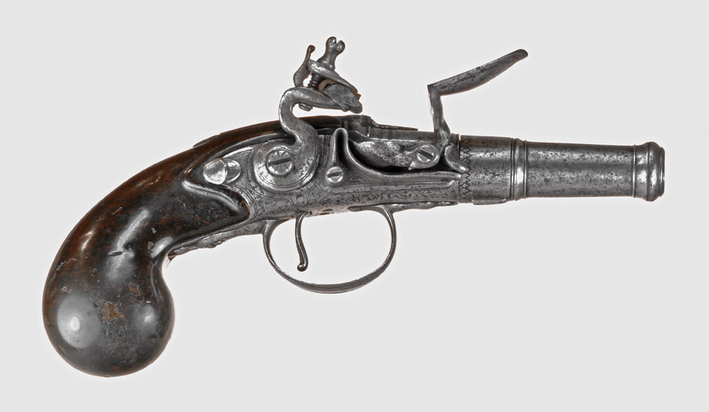 Flint Lock clipart barrel Of  Derringer pistol version