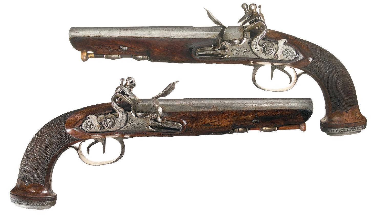 Flint Lock clipart barrel Pistols Pistol Flintlock Barrel Flintlock