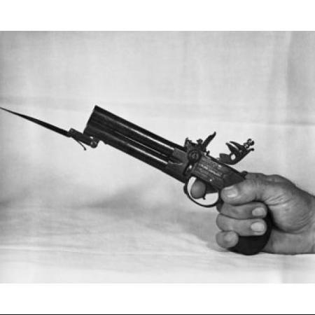 Flint Lock clipart bayonet And hand a made Get