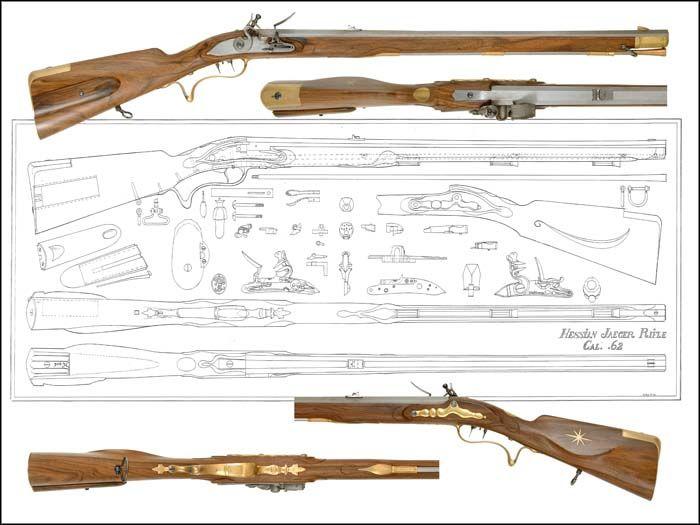 Flint Lock clipart carbine Pinterest Drawings hessian_1 images trackofthewolf