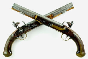 Flint Lock clipart crossed gun Pistol MP Cross Corps History