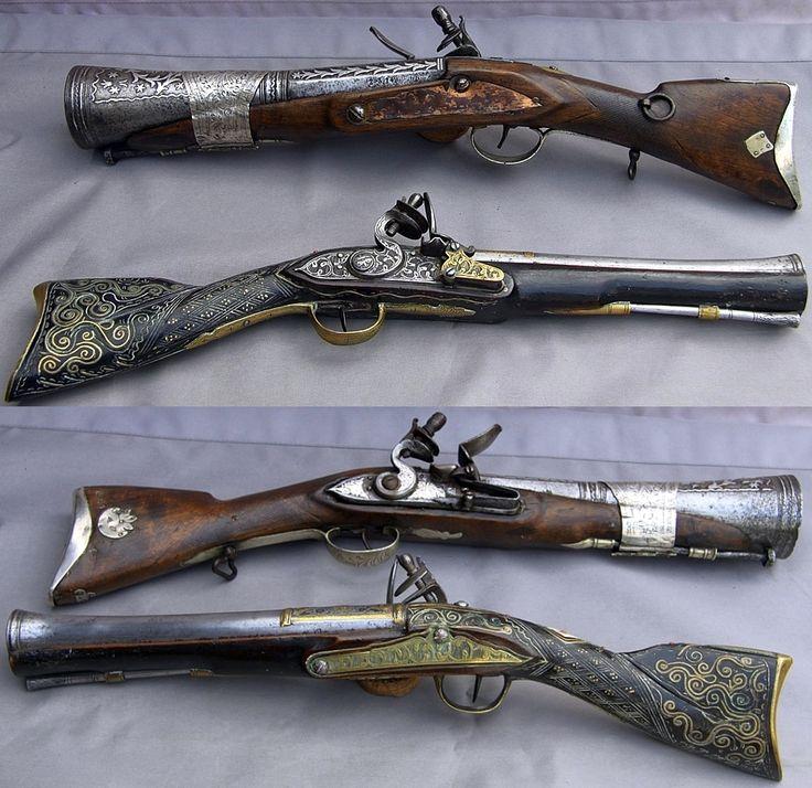 Flint Lock clipart dutch (smooth with blunderbuss gun images