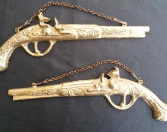 Flint Lock clipart firearm Flintlock Flintlock wall brass pistols