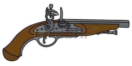 Flint Lock clipart shotgun Flint Lock clipart Lock Flint