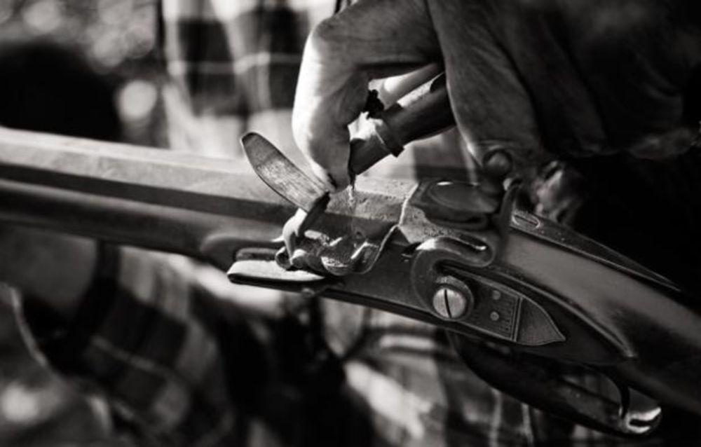 Flint Lock clipart western Flintlock Hawken a The Hershel