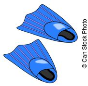Flippers clipart bottlenose dolphin Of a of Flippers blue