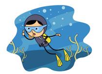 Scuba Diver clipart scuba gear #3