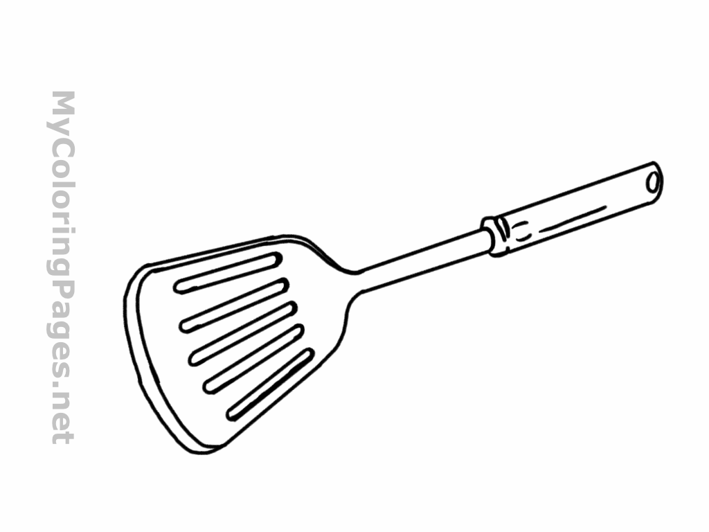 Flippers clipart spatula #3