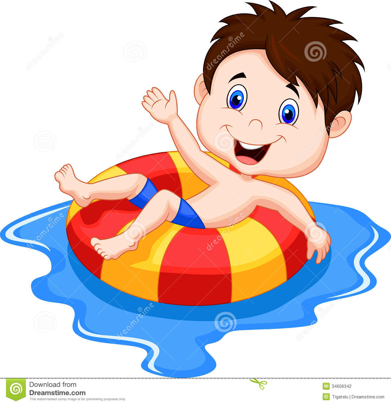 Floating clipart water safety Panda kids%20swimming%20animated Pool Free Clipart