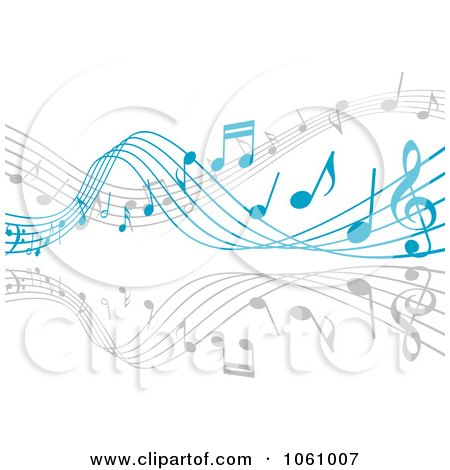 Floating clipart background Music with collection Floating musicians