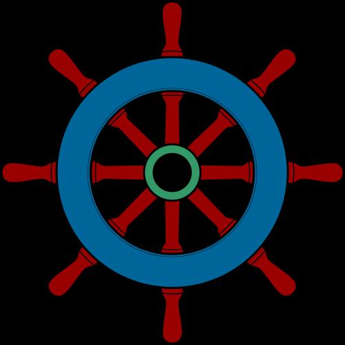 Sailboat clipart ship steering wheel &  ship File:WikivoyageSteering Pinterest