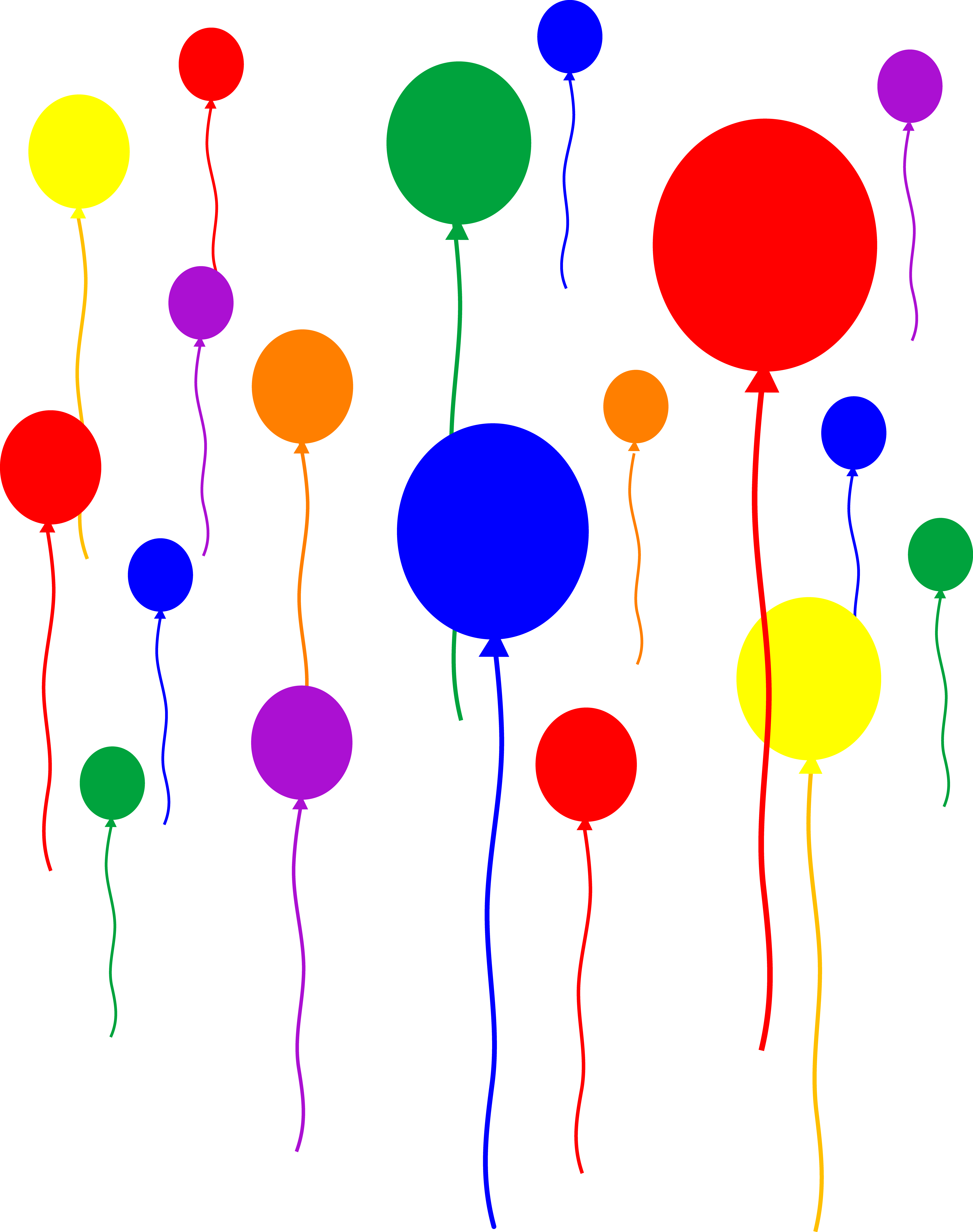 Decoration clipart party balloon Birthday balloons%20clipart Panda Border Free