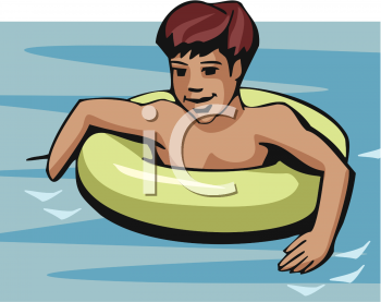 Floating clipart boy Boy Tube Floating Clipart In