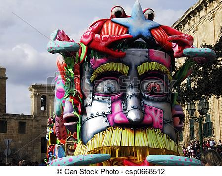 Floating clipart carnival Float Float of depicting Stock