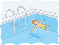 Moving clipart swimming With float how To Learn