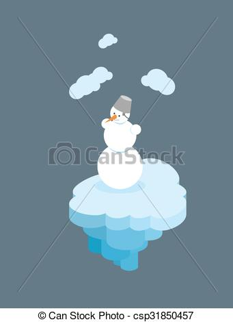 Floating clipart christmas Free an ice Christmas Character