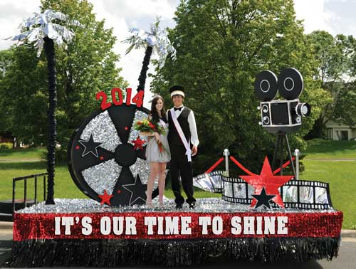 Floating clipart homecoming parade Shine float to & Our