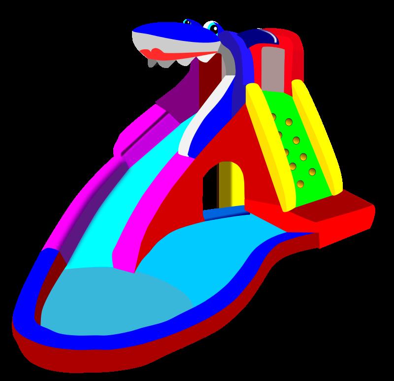 Playground clipart pool slide #2