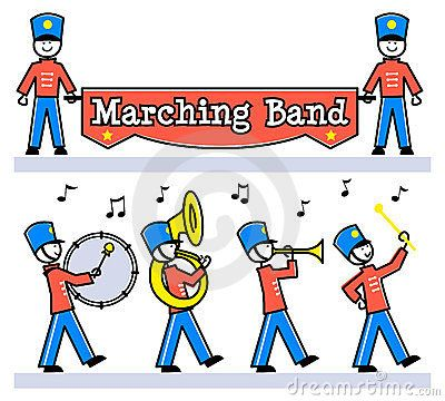 Floating clipart parade About band on Google Search