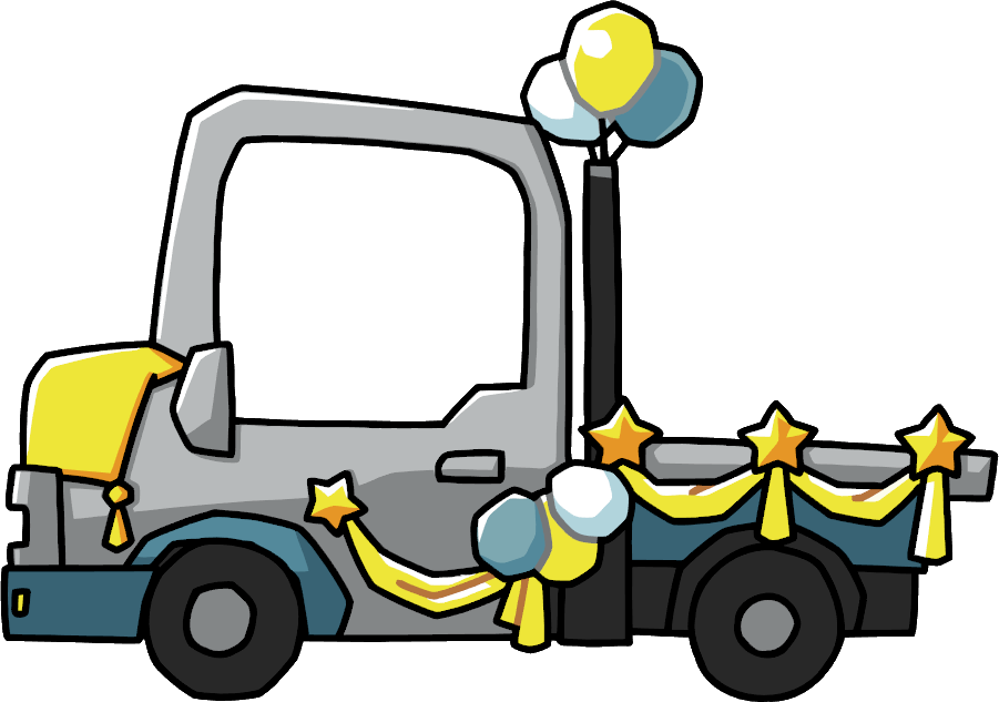 Floating clipart parade Wikia Parade Scribblenauts Wiki