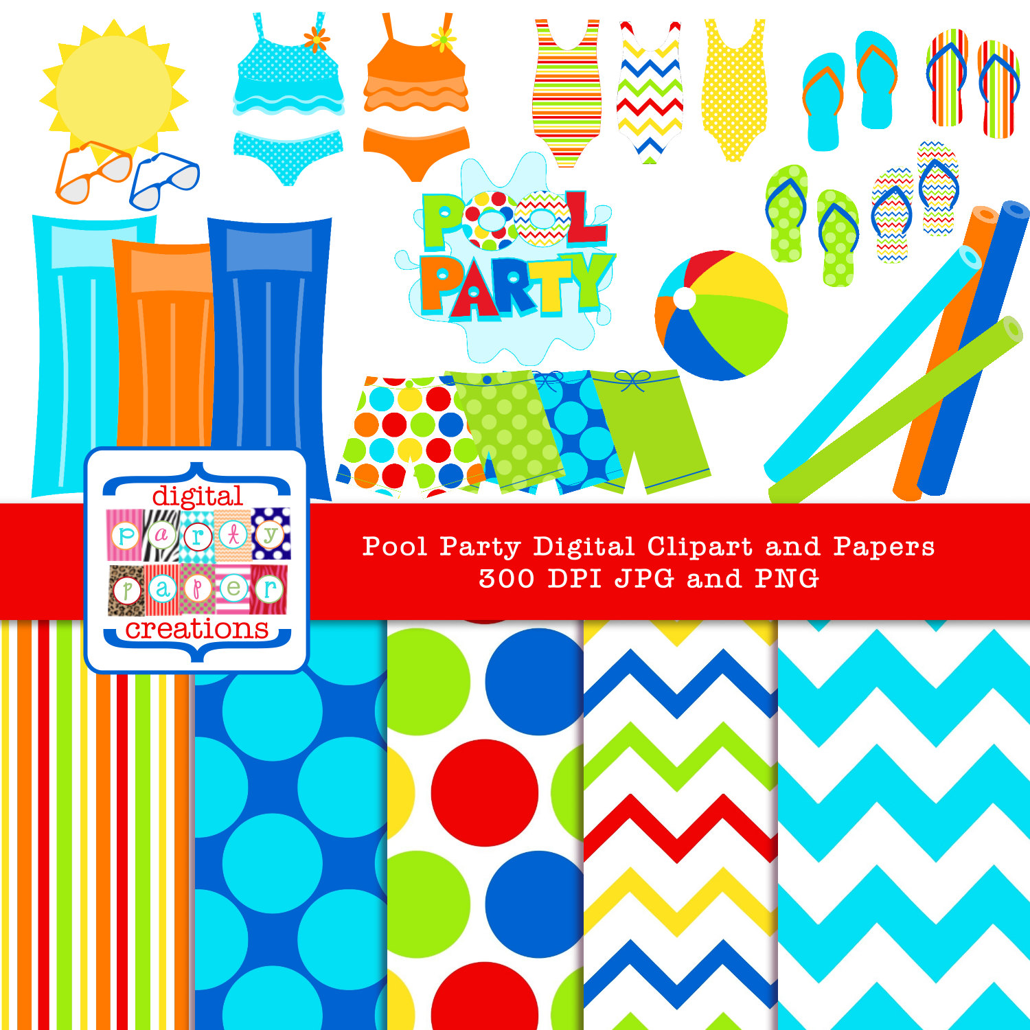 Floating clipart pool toy Pool clipart DOWNLOAD Graphic Art