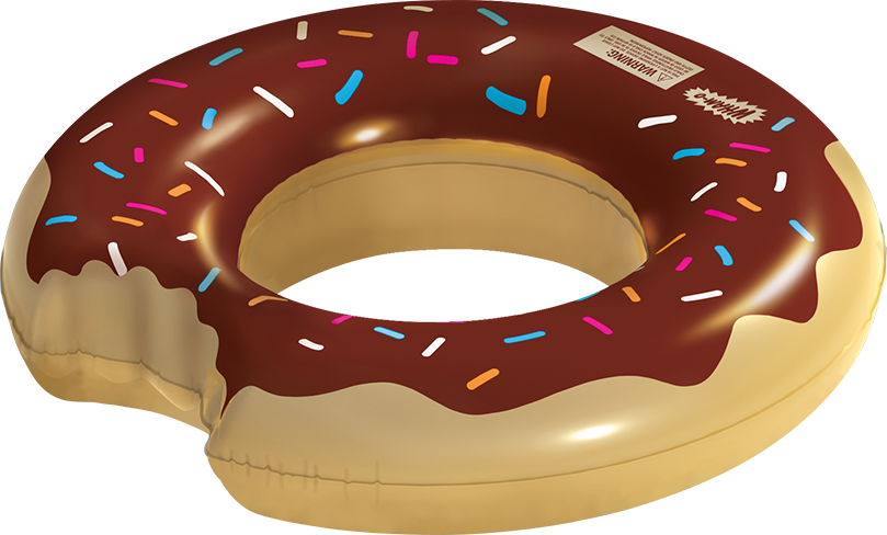 Floating clipart pool toy Chocolate – Wham float pool
