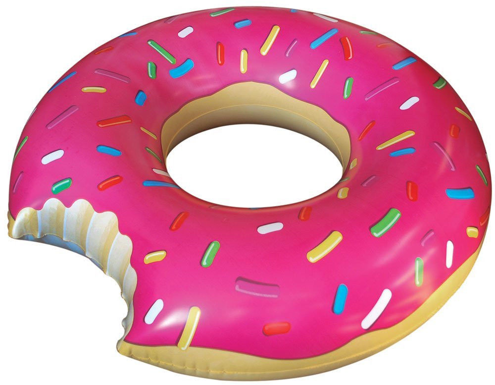 Floating clipart pool toy  Pool Swimming Donut Giant