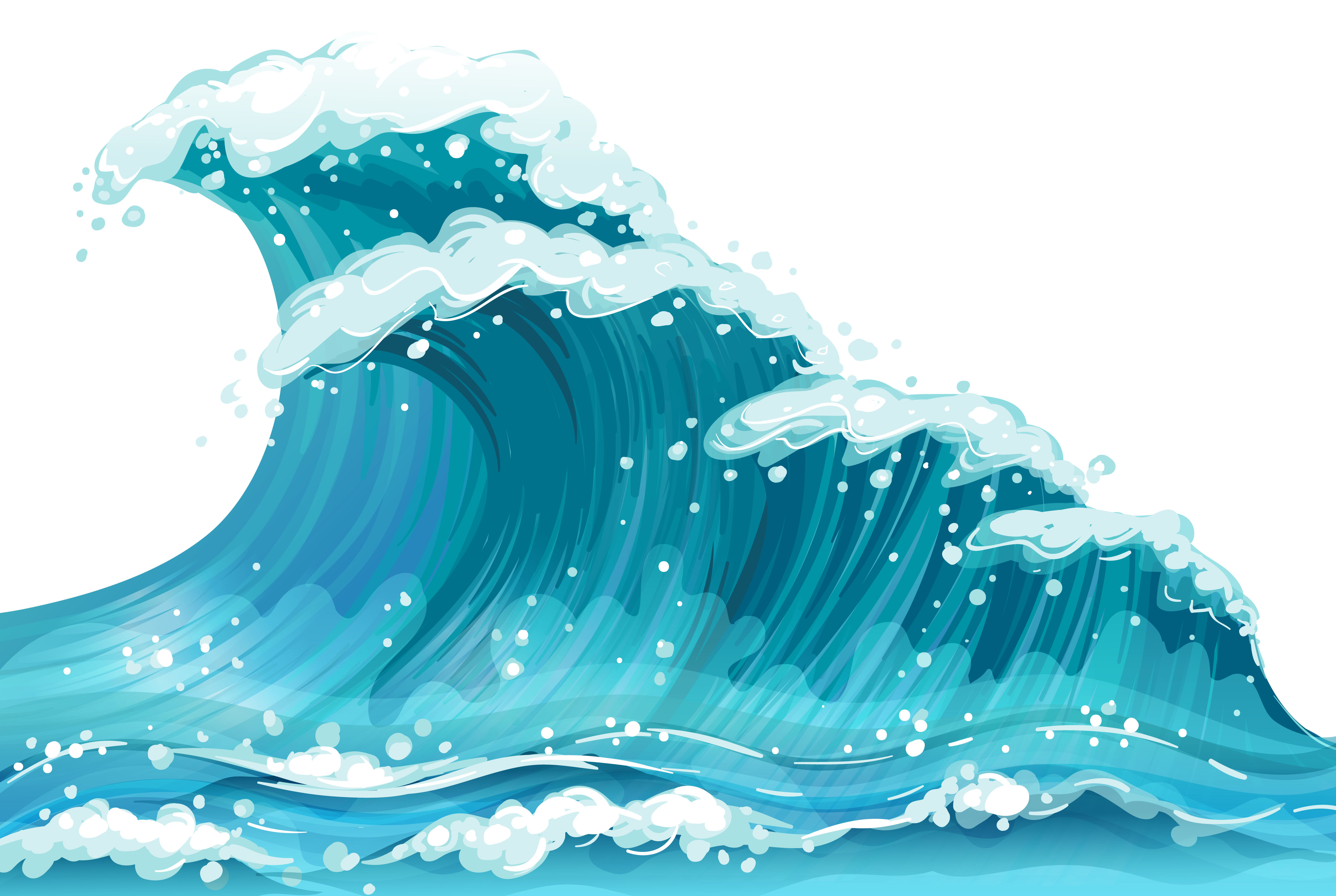 Monster Waves clipart pool wave #1