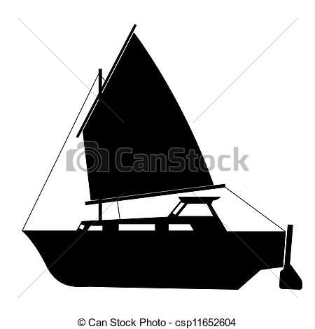 Sailing clipart float Boat floating  of Sailing