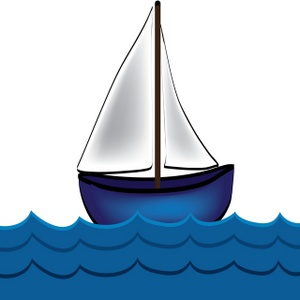 Sailing Boat clipart water clipart #3