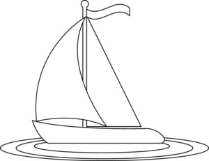 Sailing Boat clipart black and white Clipart page of clipart Cliparting