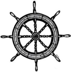 Floating clipart ship wheel Wheel? Tatuajes  Or Hmm