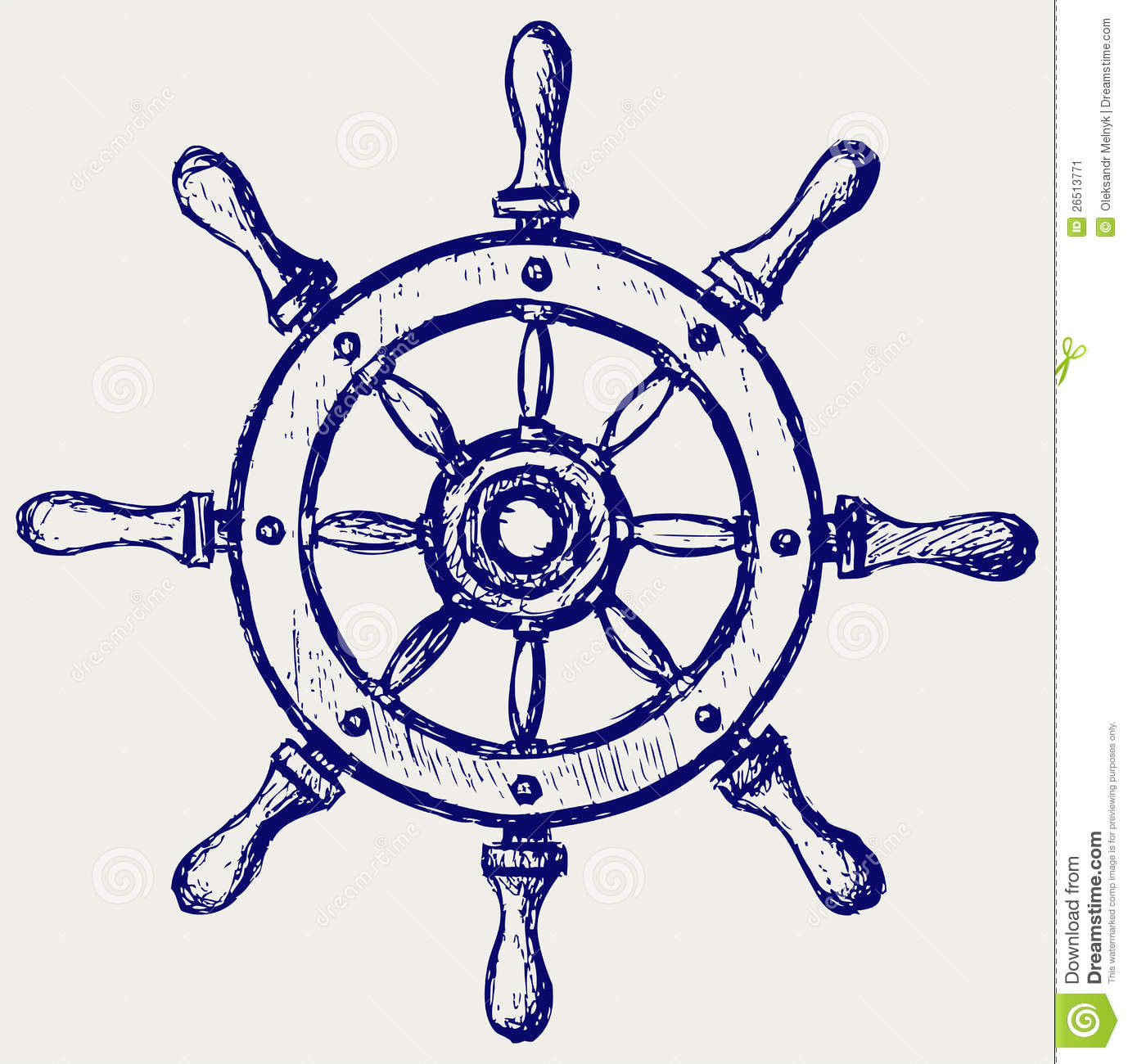 Floating clipart ship wheel Image 26513771 Marine Stock Wooden